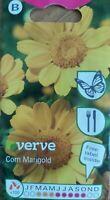 Verve - Flower- Corn Marigold 100 Seeds