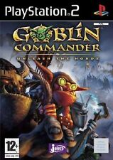 Goblin Commander: Unleash the Horde (Sony PlayStation 2, 2003) RARE RTS GAME VG