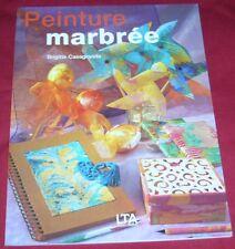 PEINTURE MARBREE / BRIGITTE CASAGANDA
