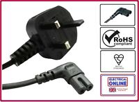 Panasonic Replacement Mains Power Lead Cable Cord LED Flat 4k UHD Long 2,3,4,5m