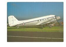 Postcard Douglas DC3 Dakota long nose version RAE Farnborough unposted (B4d)