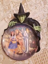 """Adventures In Oz Plate """" Haunted Forest The Witch # B 8411 From Bradford W/ Coal"""