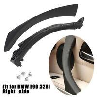 For BMW E90 E91 316 318 Passenger Right Inner Door Panel Handle Pull Trim Cover