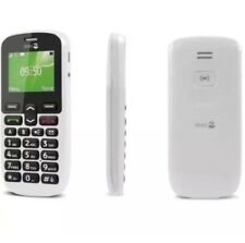 Doro PhoneEasy 508 Big Button Unlocked Mobile Phone – White - 12M Warranty