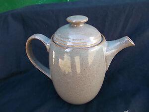 Denby GREYSTONE. Coffee Pot. Capacity 2 +pints.