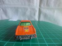 Matchbox ? 45 BMW 3.0 CSL Diecast Vintage Car 1976 ORANGE Lesney Toy Collectible