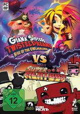 Giana Sisters vs. Super Meat Boy PC, 2014-Produit Neuf -