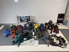 Huge Lot Vintage Tomy Zoids Robostrux Robot Motorized Toy Model pilots More