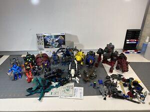 Make Offer HUGE Lot Vintage Tomy Zoids Robostrux Robot Motorized Model pilots