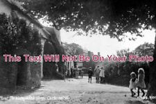 SO 262 - Near The Blacksmiths Shop, Carhampton, Somerset c1922 - 6x4 Photo