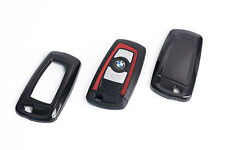 BMW Remote Flip Key Cover Case Skin Shell Cap Fob Protection Hull M Tech Black -