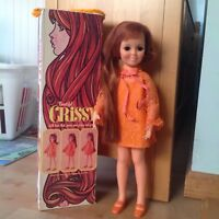 """1969 Ideal 18"""" Beautiful Crissy Doll with hair that grows No.1051-2"""