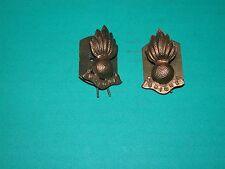 militaire badge : Paire de collier chiens : Ubique