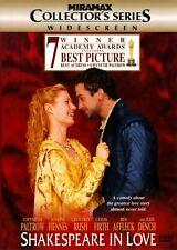 Shakespeare in Love Dvd Widescreen