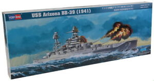 HobbyBoss Model kit #86501 1/350 USS Arizona BB-39 1941