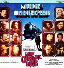 MURDER ON THE ORIENT EXPRESS + LADY CAROLINE LAMB * LP Richard Rodney Bennett
