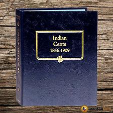 Indian Cents 1856-1909 - Whitman Album #9111