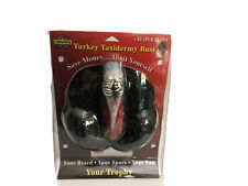 Turkey Taxidermy Bust Large Mount & Reaper Decoy Cherokee-Save Money Do Yourself