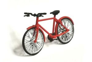 Exclusive! bicycle red handmade 1:43