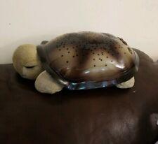 Cloud B Twilight Turtle Green Plush Toy Nightlight Projects Actual Stars