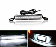 Xenon White Bolt-On 12 5730LED Bright Light License Plate Lamp Cover