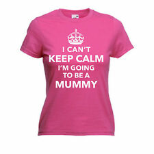 I Can't Keep Calm I'm Going to be a Mummy Pregnant Mother's Day xmas Gift Tshirt