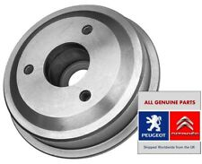 GENUINE Peugeot 106 ( MK1 MK2 VAN ) Citroen Saxo  AX Rear Brake Drum 424743