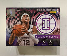 2019-20 Panini Illusions NBA Basketball Sealed Blaster Box Zion Ja Rui Herro
