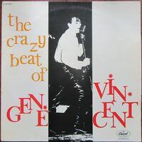 THE CRAZY BEAT OF GENE VINCENT LP French Capitol MONO 2C064 85037M 1976 EX