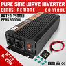 Inverter Onda Sinusoidale Pura 1500W 3000W 12V a 230V DC a AC Convertitore