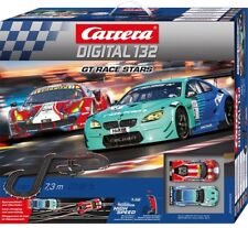 Carrera Digital 132 GT Race Stars Slot Car Racing Race Set 30005 NEW