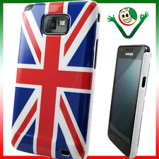 Custodia bandiera Inglese per Samsung Galaxy S2 i9105 SII Plus aderente lucida