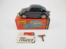 Schuco Micro Racer 1046 VW Volkswagen Bug Black Wind Up Car New in Box