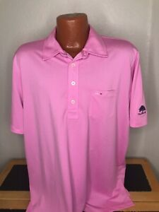 Mens RLX by Ralph Lauren S/S Polo/Golf Shirt Size Extra Large (XL) Pink