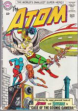 ATOM #7 1963 DC '1ST HAWKMAN & ATOM, 1ST APP. B/B'-HAWKMAN X-OVER  VG/VG-