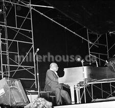 1974 Count Basie Belvedere Jazz Festival Toronto Orig. B&W 35mm Film Negative