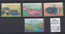 Christmas Islands 1996 Pesci 425-28   USATO
