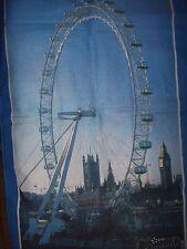 EDF Energy London Eye Tea Towel Unused