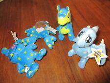 McDonald's NEOPETS Promo toys STARRY & CLOUD mix (2004) x 4  #D