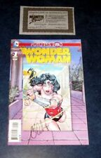 Wonder Woman #1 signed 3D motion variant Dc New 52 Futures End Charles Soule Nm