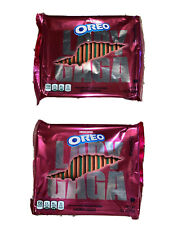 Limted Edition LADY GAGA Chromatica Oreo Cookies (2) Two 12 Oz Bags Hard To Find