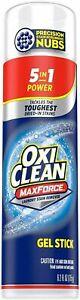 Oxi Clean Max Force Gel Stick New 6.2 oz Laundry Stain Remover pretreat scrub