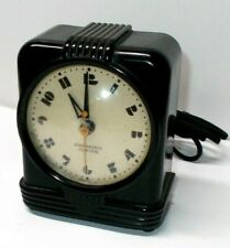 Vintage 1930`s Art Deco Hammond Jr. Synchronous Table Clock, Works