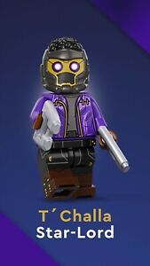 LEGO 71031 Marvel Studios Minifigures No. 11 - Tchalla Star Lord New & Sealed