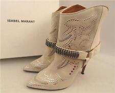 Isabel marant stude bottines en cuir, UK5 FR39 IT38, rrp790GBP, comme la piste