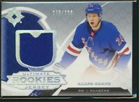 2019-20 Upper Deck Ultimate Collection Rookies Jersey /399 #199 Kaapo Kakko