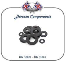 Black Zinc Plated Steel Washers DIN125-1A M3/M4
