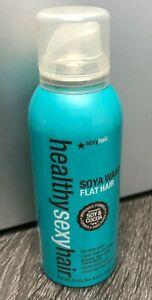 Sexy Hair Healthy Soya Want Flat Hair Spray 4.5 oz NEW