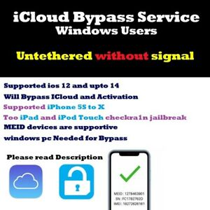 iCloud bypass Service - USB Remote Service iPhone - iPad - iPod Touch