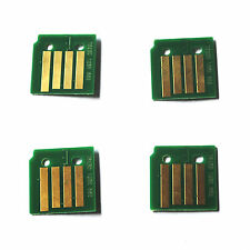 4 x Toner Reset Chip for Xerox Phaser 7800, 7800DN, 7800DX (106R01570-3)